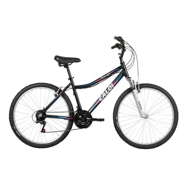 Bicicleta alumínio rouge aro 26 preto caloi