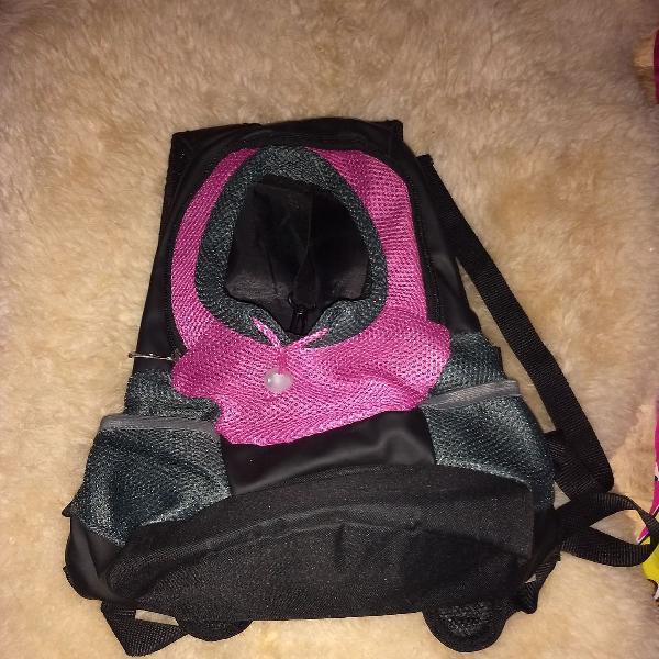 Bolsa para cachorro rosa