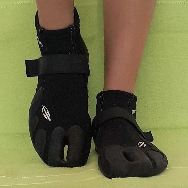 Bota sapatilha de neoprene mormaii cano curto 2.5mm