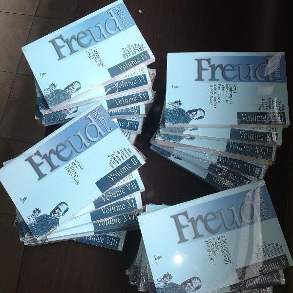 Coleção 24 volumes das obras completas de freud