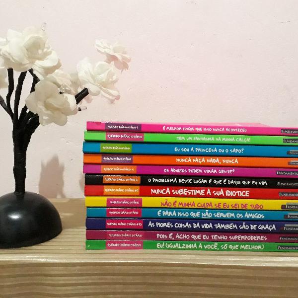 Coleção de livros querido diário otário