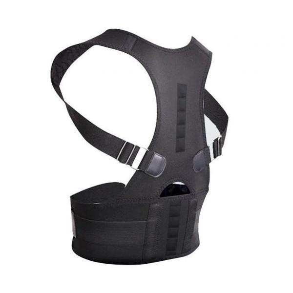 Colete cinta reforçada corretor postura coluna lombar