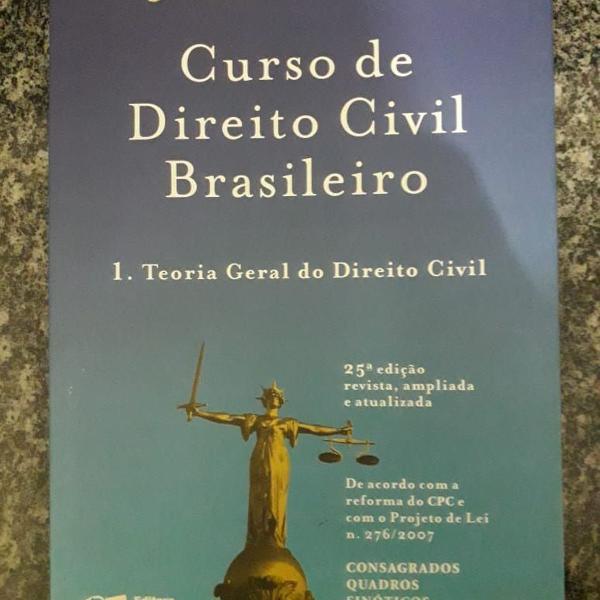 Curso de direito civil brasileiro - teoria geral do direito