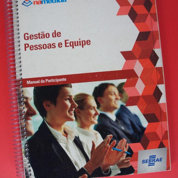 Curso gestão de pessoas e equipe sebrae empreendedorismo