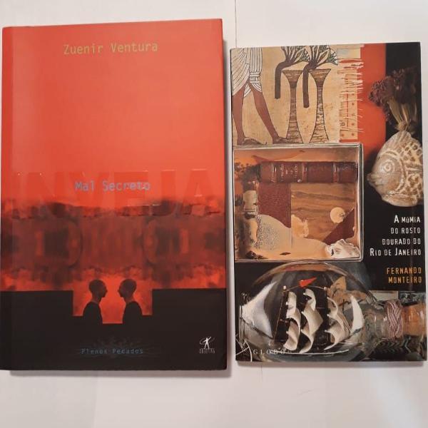 Kit com 02 livros