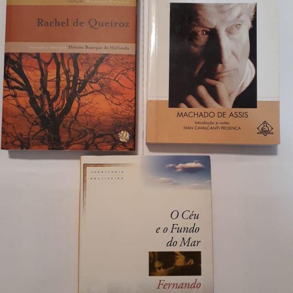 Kit com 03 livros diversos