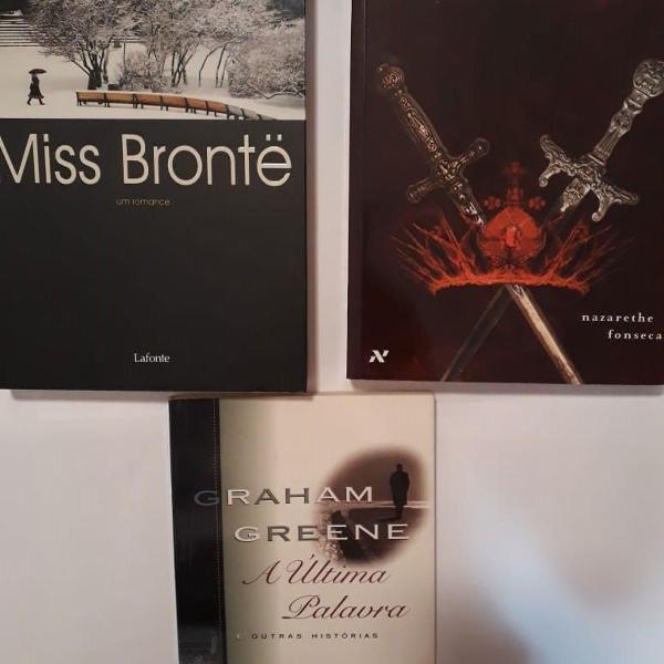 Kit com 3 livros diversos 01