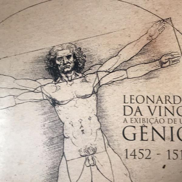 Leonardo da vinci catalogo da exposição a exibição de um