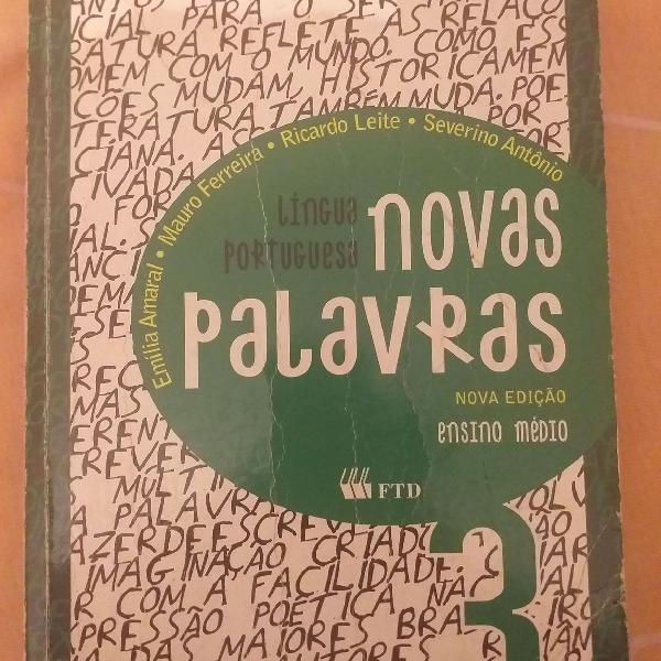 Livro português novas palavras