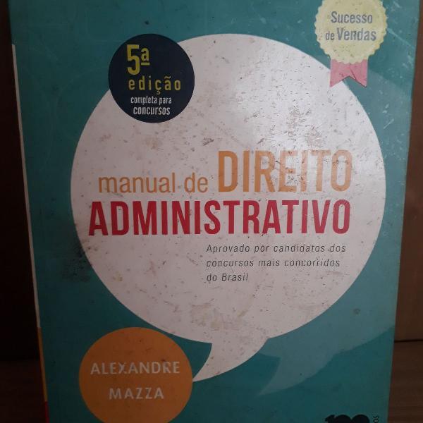 Livro de direito administrativo para concursos