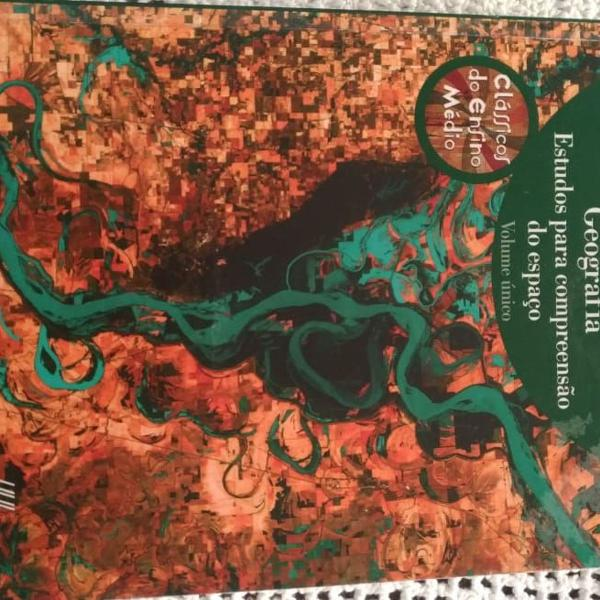Livro de geografia ensino médio volume único