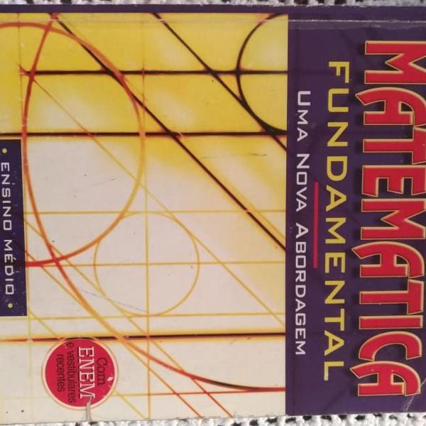 Livro de matemática ensino médio volume único