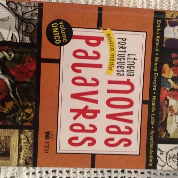 Livro de português ensino médio volume único