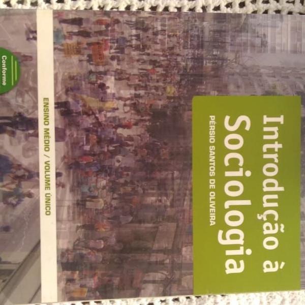Livro de sociologia, ensino médio volume único