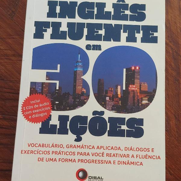 Livro inglês fluente em 30 lições de josé roberto da