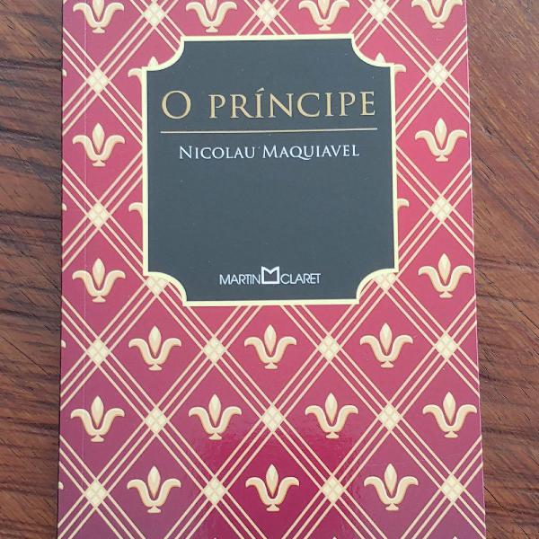 Livro o príncipe de nicolau maquiavel editora martin claret