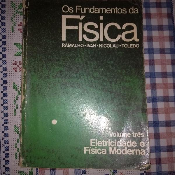 Livro os fundamentos da física vol 3