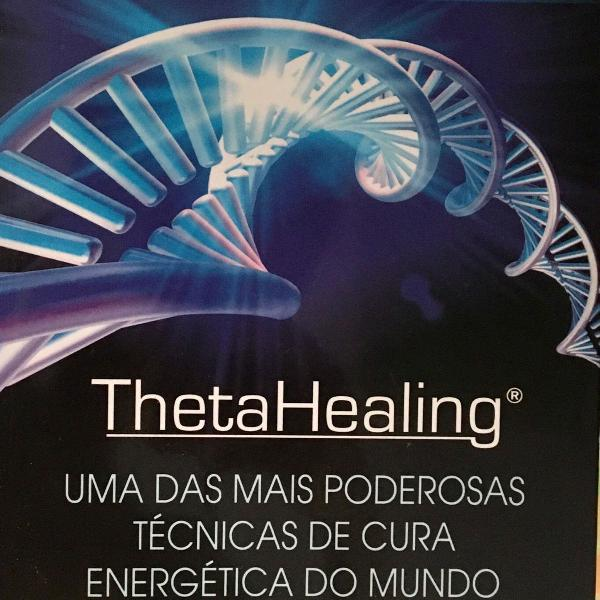 Livro thetahealing + apostila do curso dna básico - vianna