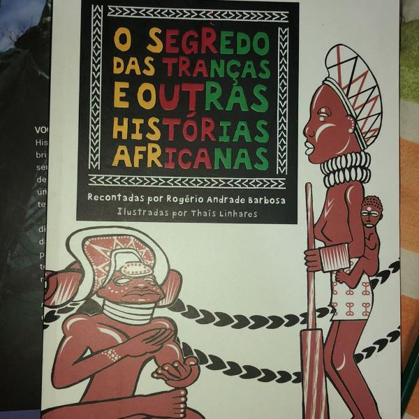 O segredo das tranças e outras historias africanas