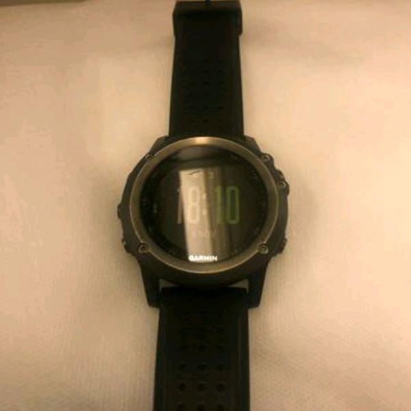 Relógio garmin fênix® 3 sapphire hr