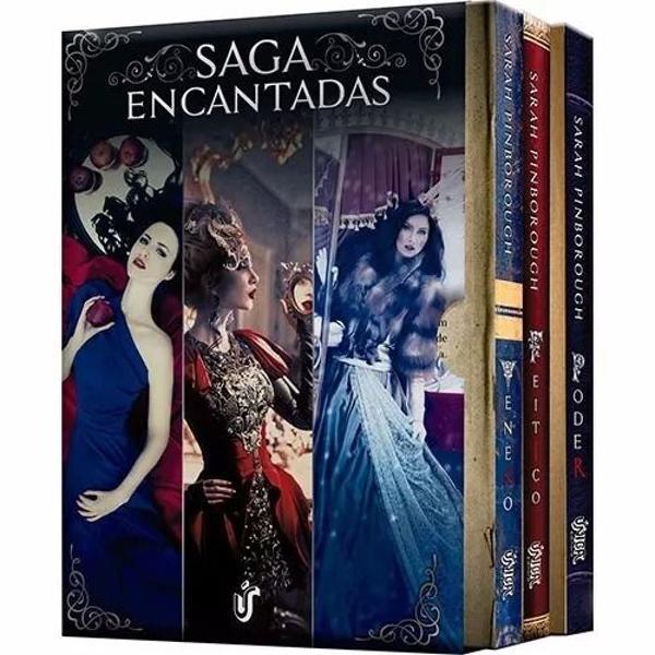 Saga encantadas c/ 3 livros veneno feitiço poder