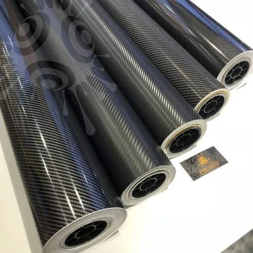 Adesivo fibra carbono 2d 3d 4d 5d envelopamento carro moto