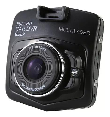 Camera filmadora automotiva dvr hd veicular multilaser au021