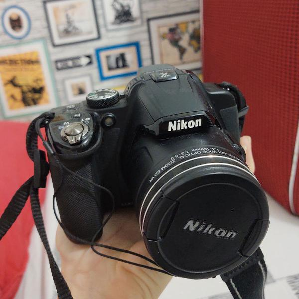 Câmera digital nikon coolpix p520