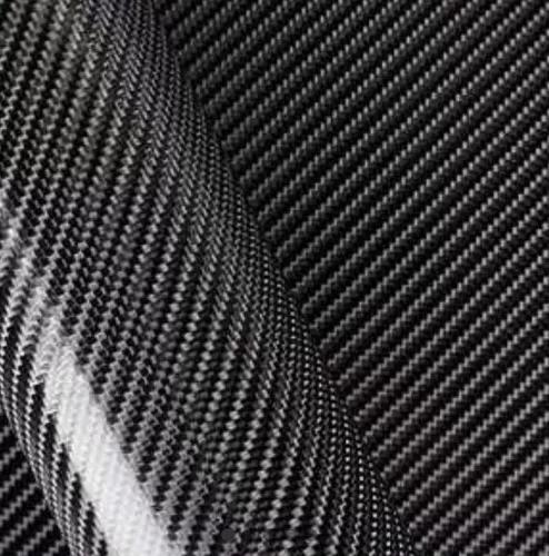 Envelopamento fibra carbono 4d 1m x 29cm