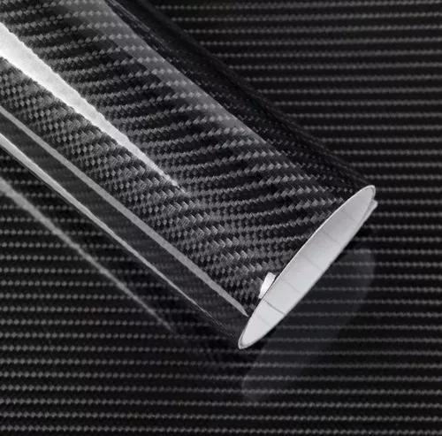 Fibra de carbono 5d 4d 3d ou 2d 1m x 50cm