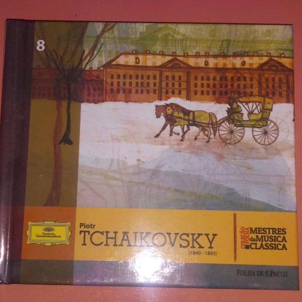 Livro cd tchaikovsky