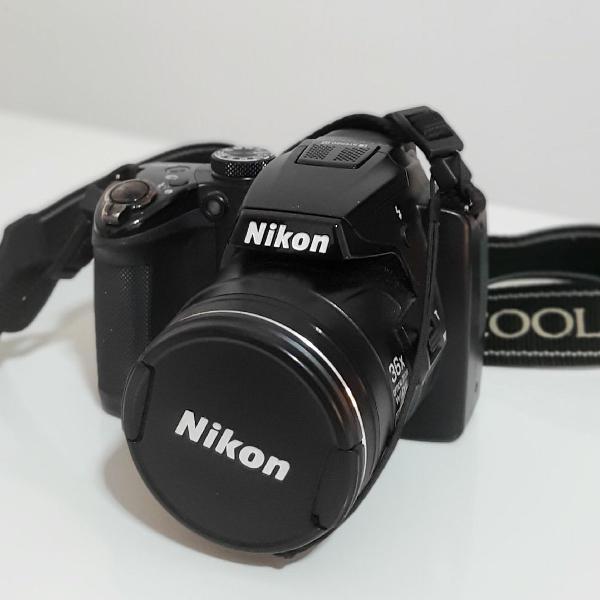 Nikon coolpix p500 + acessórios