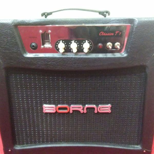 Amplificador cubo valvulado borne classico t7 valve sovtek