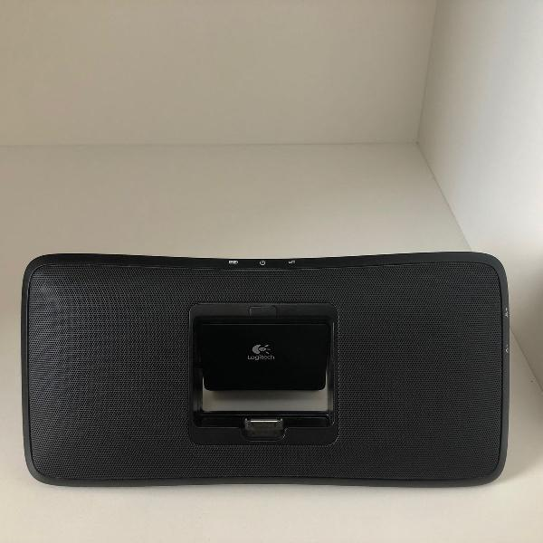 Caixa de som tipo dock iphone/ipod