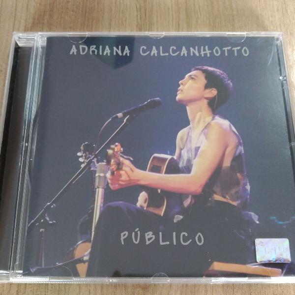 cd original - adriana calcanhoto público