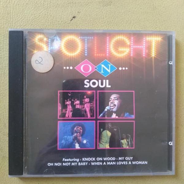Cd - spotlight on soul - tina turner e outros - 1994