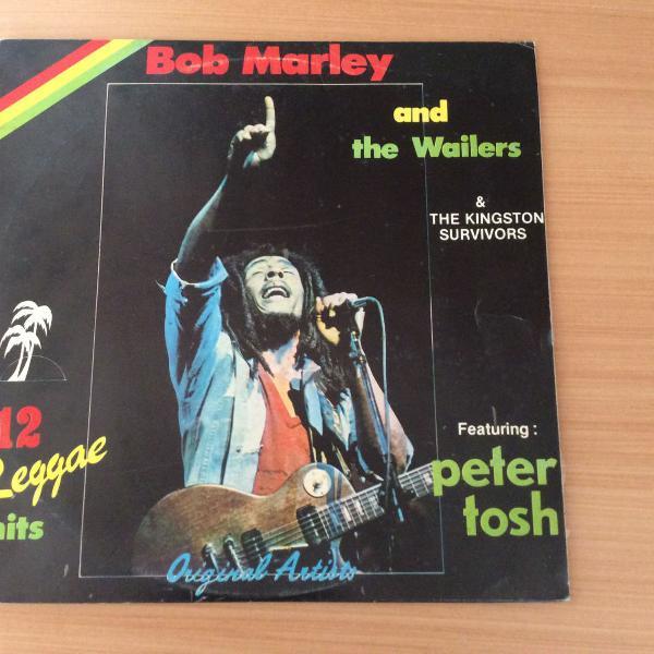 Lp bob marley - 12 reggae hits