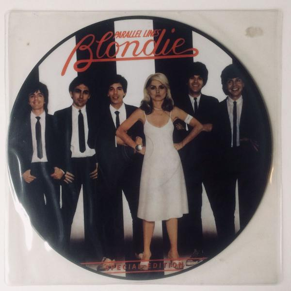 Lp vinil picture vinyl blondie parallel lines