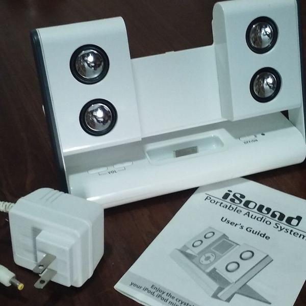Nativa isound - portable audio system - sistema de áudio