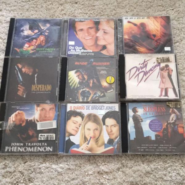 Pacotão cds de filmes