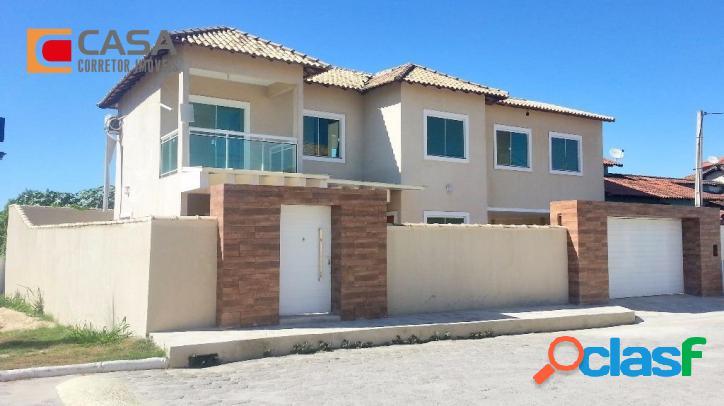 Casa em inoã, 3 quartos (1suíte)