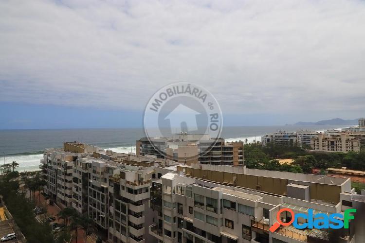 Apartamento 170m², 4 quartos, vista mar, barra summer dream - barra