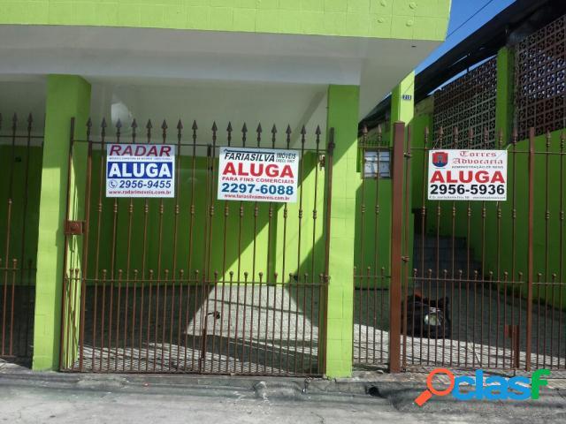 Casa para locação comercial - aluguel - sãƒo paulo - sp - sao miguel paulista)