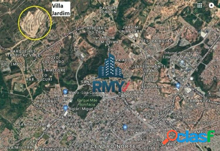 Dois Terrenos À venda no Villa Jardim - 447,38 m² (cada) 1