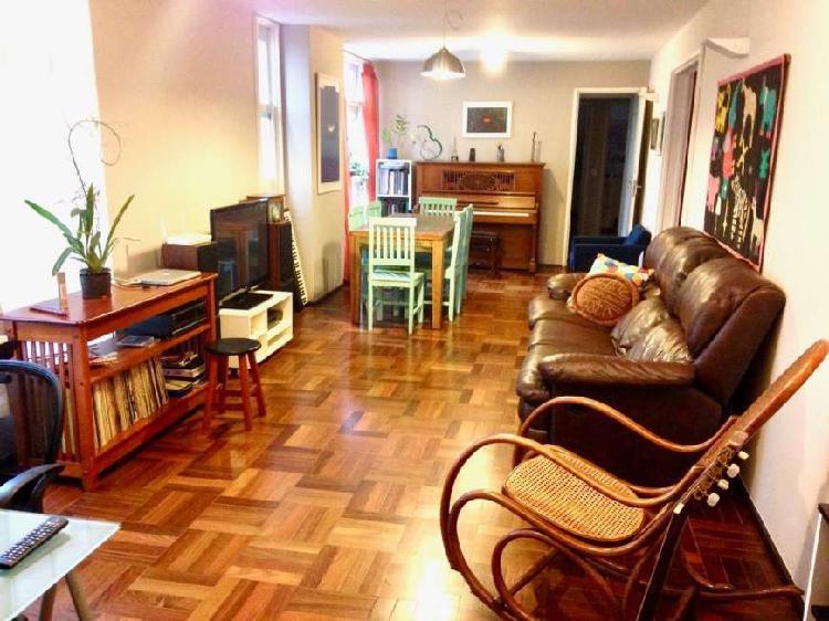 Apartamento de 110 m² - 2 dormitórios - 1 vaga - paraíso.