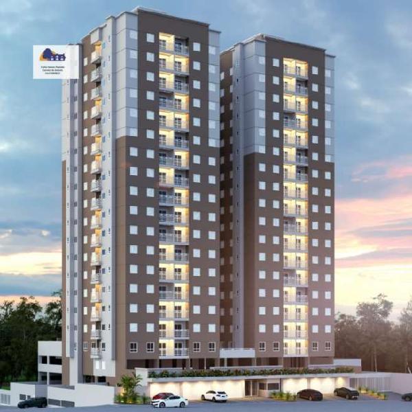 Apartamento 51 m² 2 dormitórios cozinha americana 1 vaga a