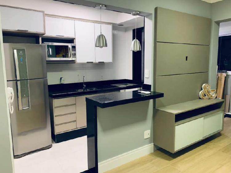 Apartamento portal centro 40m² - com vaga - mobiliado -