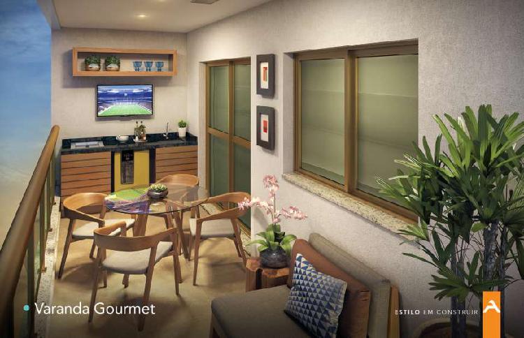 Apartamento santa rosa 2 quartos, varanda gourmet,