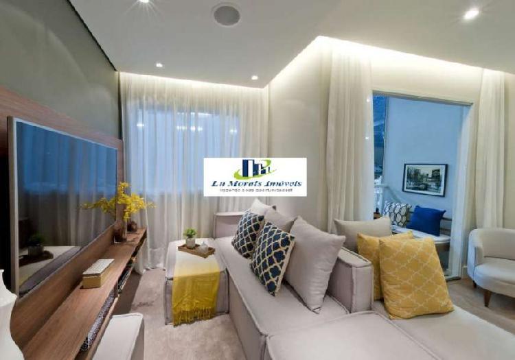 Apartamento de 45m² na zona norte, 2 dormitórios 1 vaga,