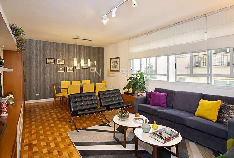 Apartamento impecável e encantador, em higienópolis, com
